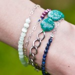 DIY Delicate Chain and Bead Bracelet Tutorial