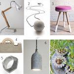 DIY Inspiration: Concrete