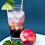 Nectarine + Blackberry Mojito
