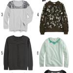 DIY Inspiration: Fancy Sweatshirts