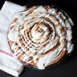 Giant Whiskey Cinnamon Roll Cake