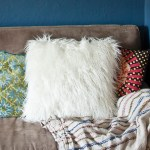 Make a Faux Fur Throw Pillow