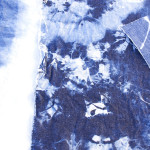 DIY Bleached Denim Faux Shibori