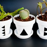 Quick DIY Triangle Plant Pots