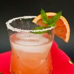 Salty Sake Greyhound Cocktail