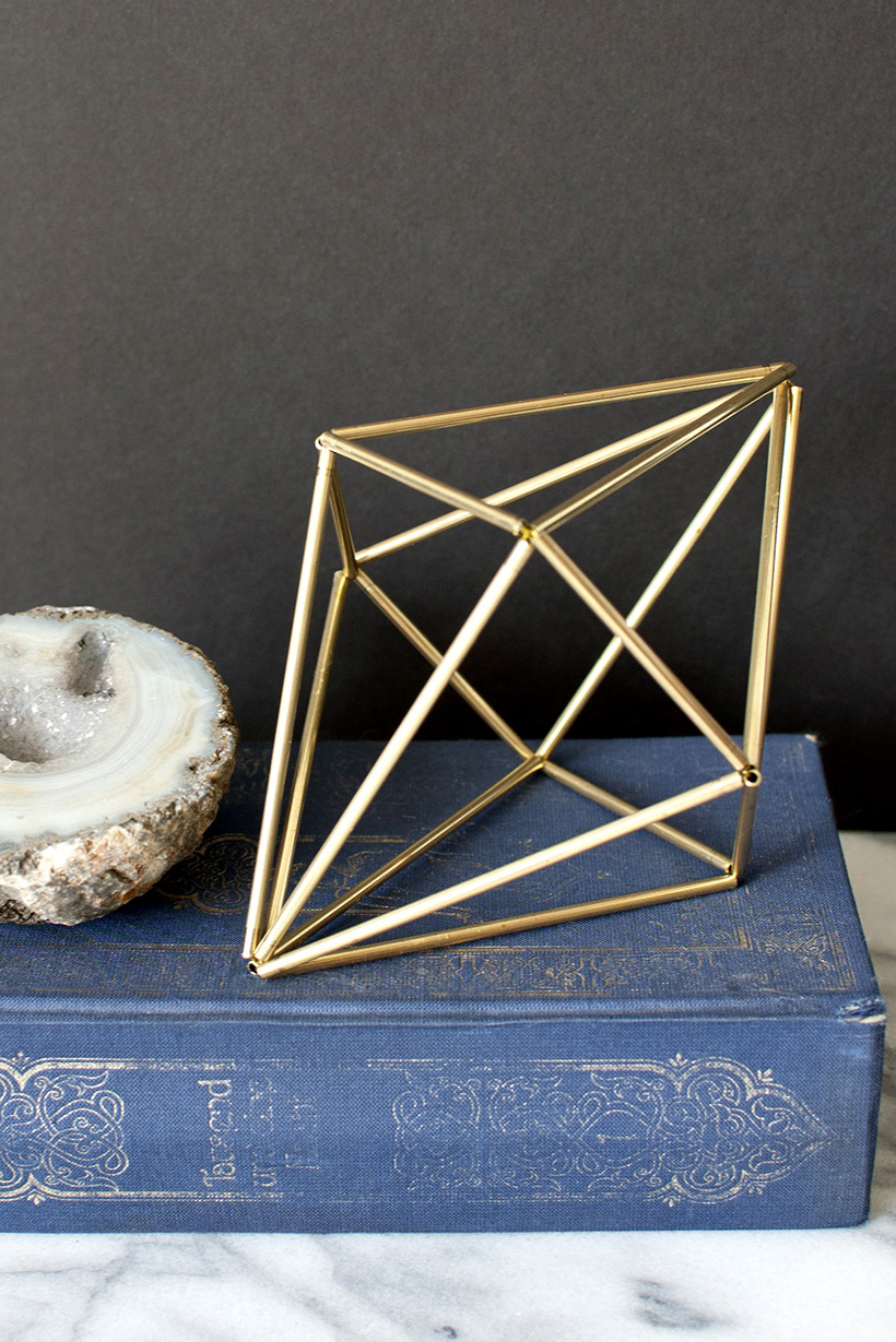 Diy Geometric Himmeli Diamonds