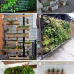 Vertical Gardens DIY Inspiration
