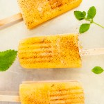 These popsicles combine cantaloupe, mint, and chili for an unusual but delicious frozen treat.