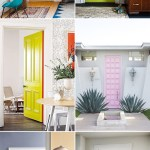 DIY Inspiration: Bright Painted Doors