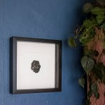 Easy DIY art: Frame and hang a pretty crystal or geode