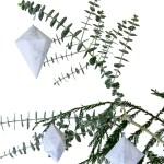DIY Marble Geometric Ornaments