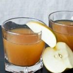 Easy Spiked Ginger Cider