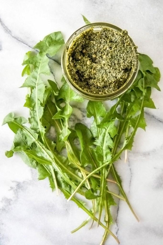 dandelion pesto recipe