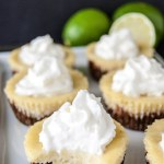 Mini Key Lime Pies with Gingersnap Crusts