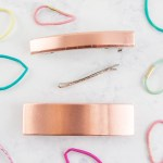 Make a DIY Copper Hair Clip/Barrette