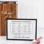 Free Printable Kitchen Measurement Conversion Chart