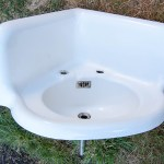 Cleaning a Salvaged Vintage Sink