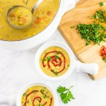 Vegan Curried Coconut Corn Chowder