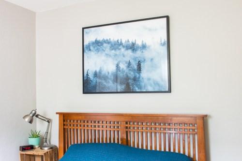 Guest room art