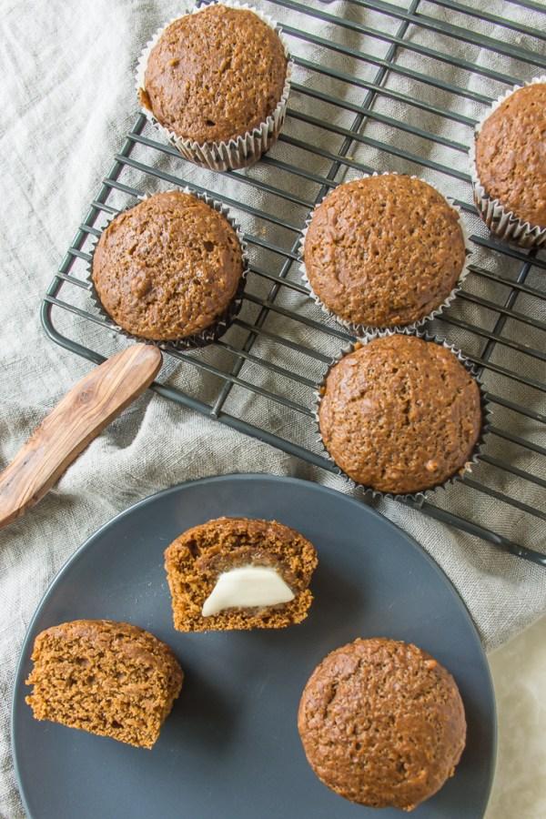 Gingerbread Muffins – Vegan