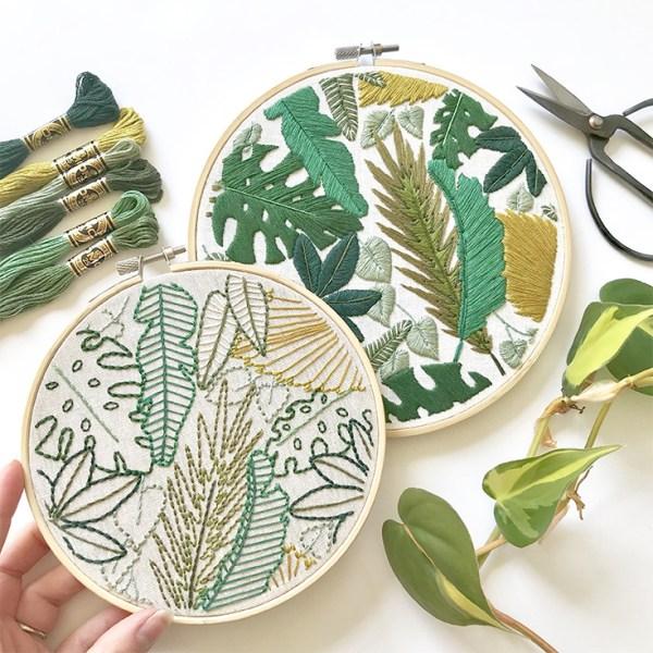 DIY Inspiration: Modern Embroidery