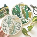 Lark Rising embroidery pattern