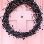 Halloween Wreaths, Two Ways