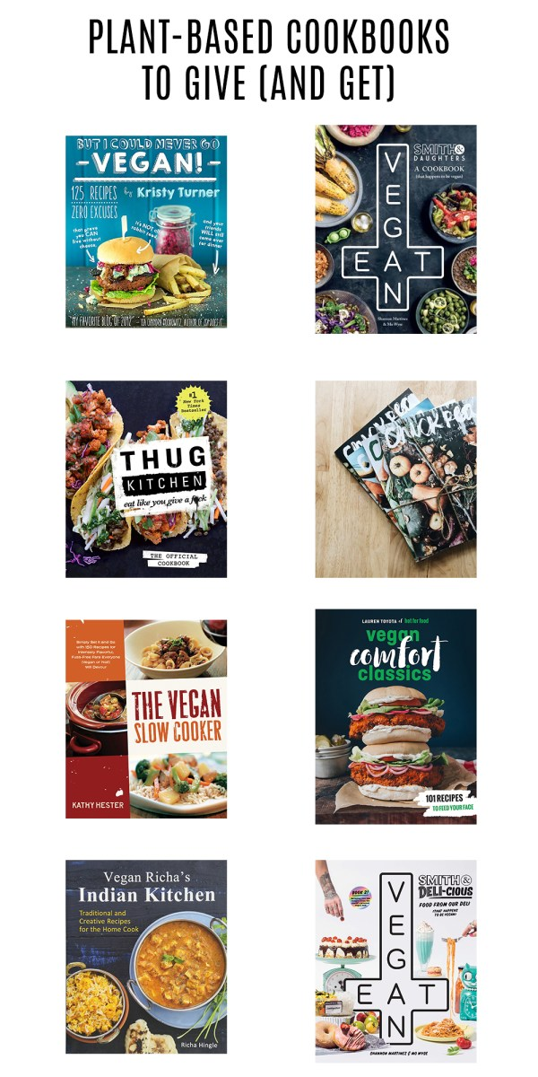 Gift Guide: Plant-Based Cookbooks