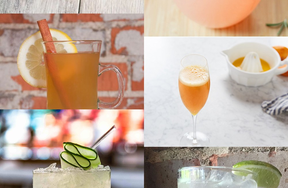 These non-alcoholic mocktails are great alternatives to cocktails for when you're taking a break from alcohol.