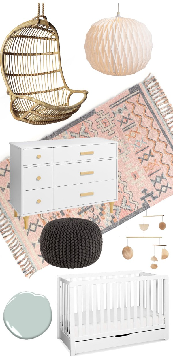 One Room Challenge Week 1: Nursery Plans