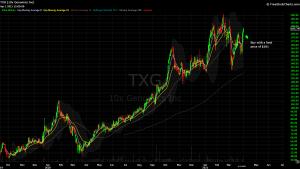 DIY Investor - 821x model trade - $TXG