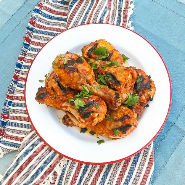 Best 4th of July Recipes and Backyard BBQ ideas - Grilling Recipes BBQ Chicken at http://diyjoy.com/best-4th-of-july-recipes-ideas