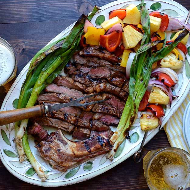 Best 4th of July Recipes and Backyard BBQ ideas - Grilling Recipes Marinated Rib Eye at http://diyjoy.com/best-4th-of-july-recipes-ideas