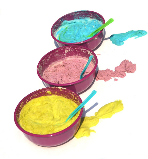 Easy Crafts for Kids to Make | DIY Puffy Sand Paint | DIY Projects & Crafts by DIY JOY at http://diyjoy.com/pinterest-crafts-for-kids-diy-paint