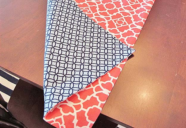 Easy DIY Sewing Projects for the Home - Homemade Table Runner Tutorial - DIY Projects & Crafts by DIY JOY at http://diyjoy.com/quick-diy-projects-fast-crafts-ideas