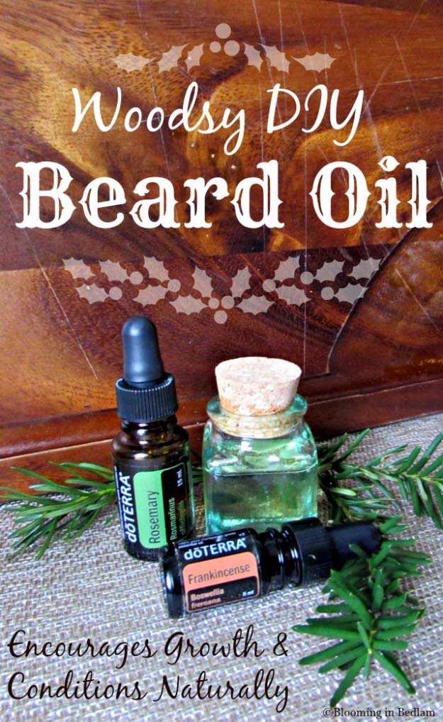 DIY Gifts For Men | Awesome Ideas for Your Boyfriend, Husband, Dad - Father , Brother and all the other important guys in your life. Cool Homemade DIY Crafts Men Will Truly Love to Receive for Christmas, Birthdays, Anniversaries and Valentine's Day | Woodsy DIY Beard Oil | http://diyjoy.com/diy-gifts-for-men-pinterest
