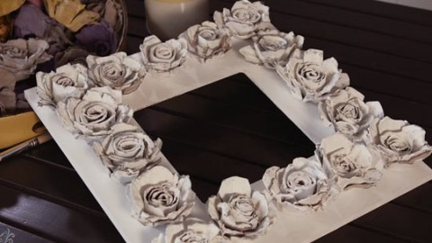 Crafty Egg Carton Flowers For Vintage Decor