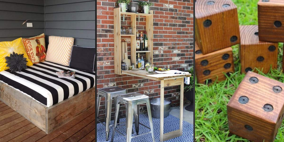 41 Cool DIYs to Get Your Backyard Ready for Summer on Diy Small Patio Ideas id=74715