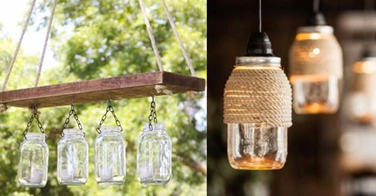 Our coordinating mason jar light fixtures come in ceiling fan kits, vanity lights and even track lighting. 32 Diy Mason Jar Lighting Ideas