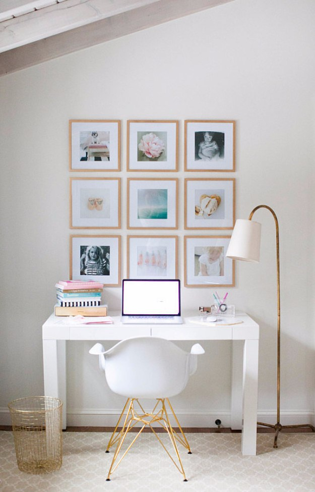 38 Brilliant Home Office Decor Projects on Pinterest Wall Decor  id=78694