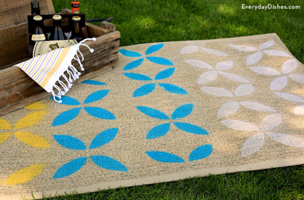 32 Brilliant DIY Rugs You Can Make Today