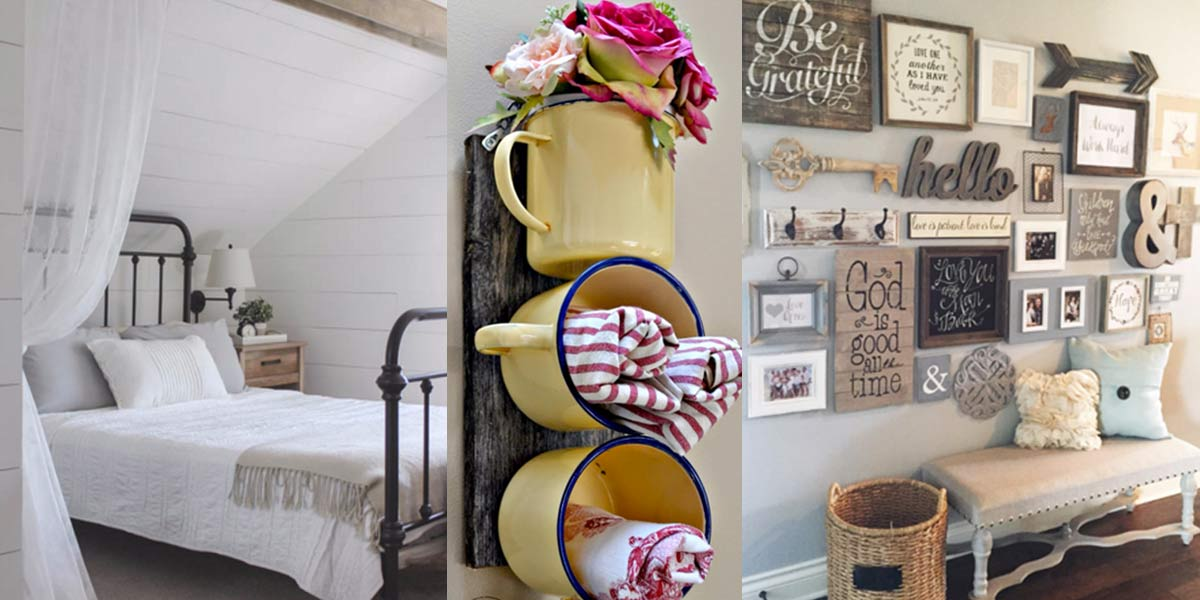 41 Incredible Farmhouse Decor Ideas on Farmhouse Decorating Ideas  id=53865
