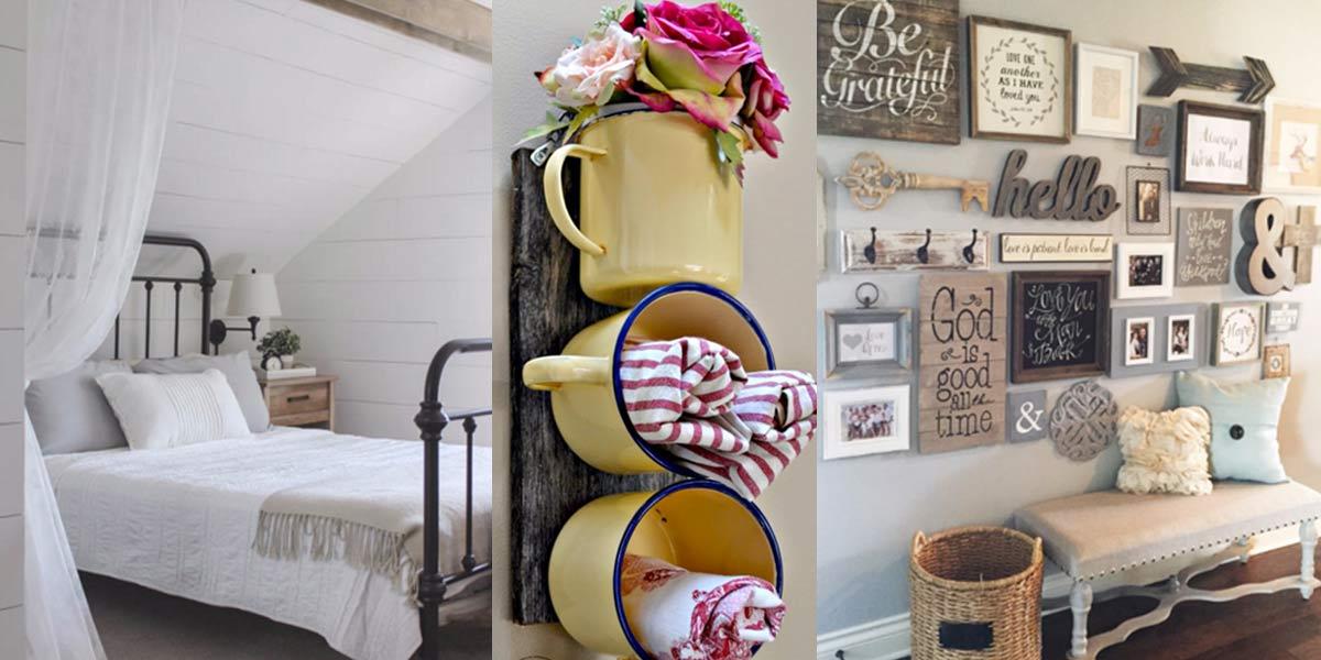 41 Incredible Farmhouse Decor Ideas