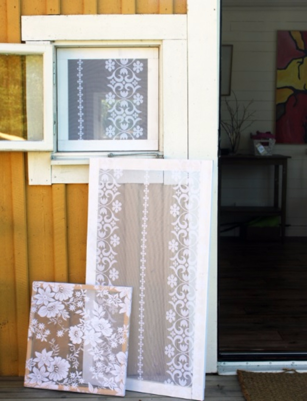 40 DIY Ways to Dress Up Boring Windows - Add Lace To Your Windows - Cool Crafts and DIY Ideas to Make Awesome Bedrooms, Living Room Decor - Easy No Sew Ideas, Cheap Ideas for Makeovers, Painting and Sewing Tutorials With Step by Step Instructions for Awesome Home Decor http://diyjoy.com/diy-window-ideas