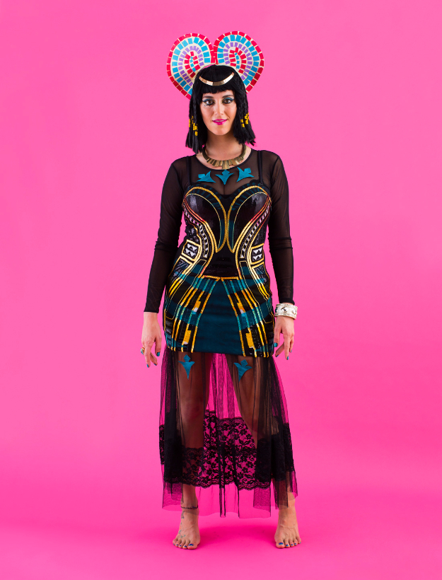 Best DIY Halloween Costume Ideas - DIY Dark Horse Katy Perry Costume - Do It Yourself Costumes for Women, Men, Teens, Adults and Couples. Fun, Easy, Clever, Cheap and Creative Costumes That Will Win The Contest http://diyjoy.com/best-diy-halloween-costumes