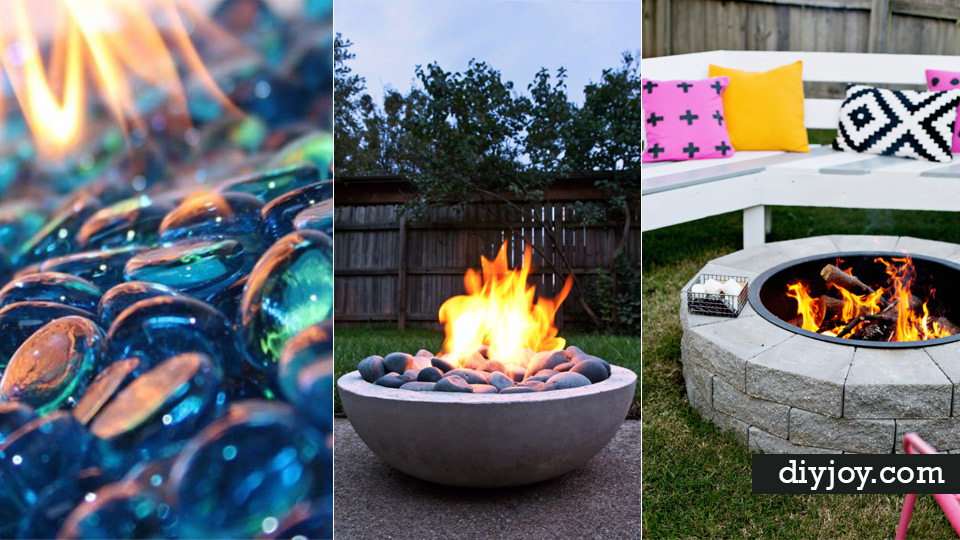 31 DIY Outdoor Fireplace and Firepit Ideas on Diy Outdoor Fire  id=31090