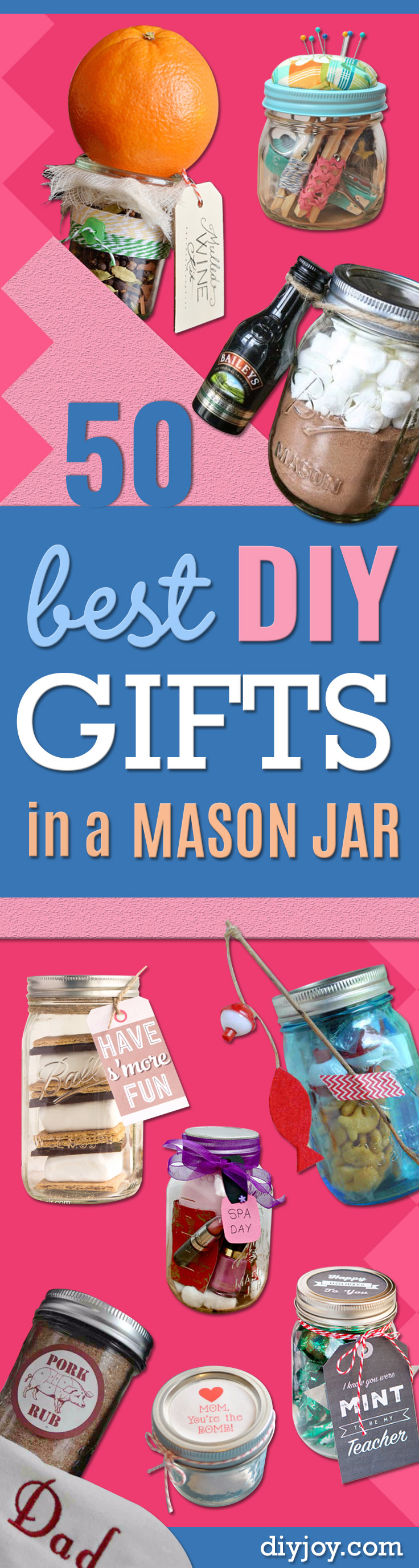 50 Best DIY Gifts In Mason Jars