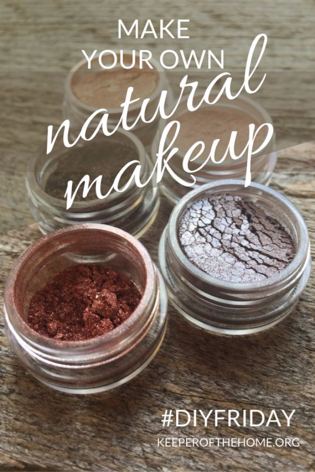 DIY Beauty Hacks - Make Your Own Natural Make Up - Cool Tips for Makeup, Hair and Nails - Step by Step Tutorials for Fixing Broken Makeup, Eye Shadow, Mascara, Foundation - Quick Beauty Ideas for Best Looks in A Hurry http://diyjoy.com/diy-beauty-hacks