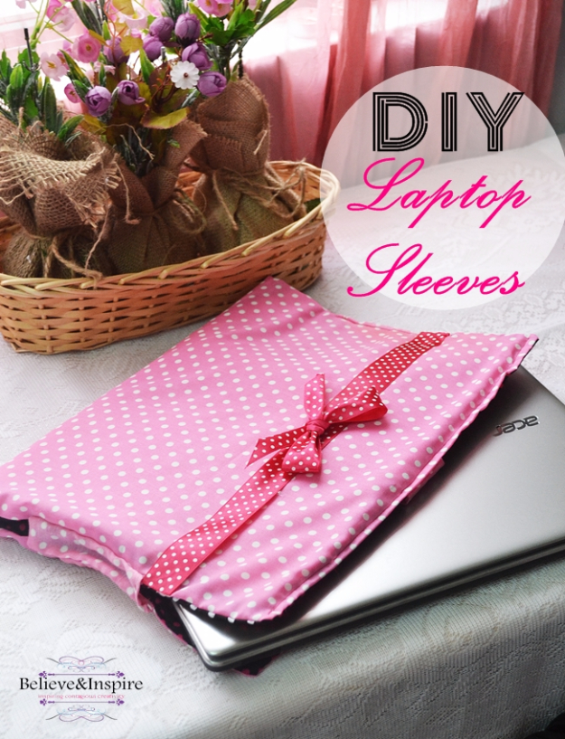 Best Sewing Projects to Make For Girls - DIY Laptop Sleeves - Creative Sewing Tutorials for Baby Kids and Teens - Free Patterns and Step by Step Tutorials for Dresses, Blouses, Shirts, Pants, Hats and Bags - Easy DIY Projects and Quick Crafts Ideas http://diyjoy.com/cute-sewing-projects-for-girls