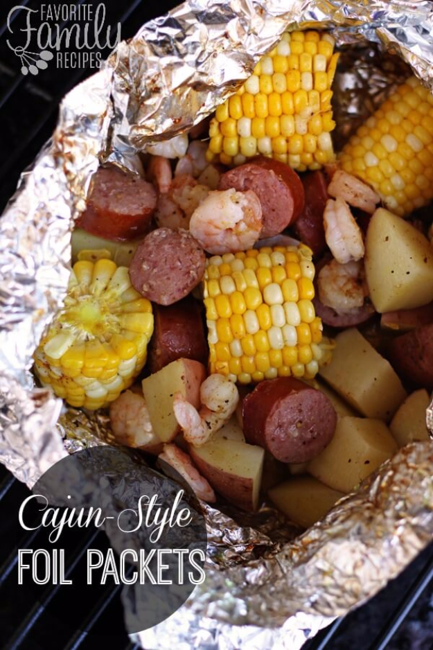 34 Best Tin Foil Camping Recipes
